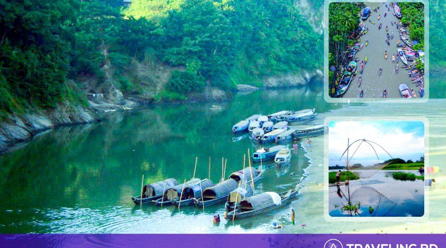 Jaflong A dream land for the tourist.